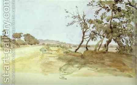 Italian Landscape by Alexander Ivanov - Reproduction Oil Painting