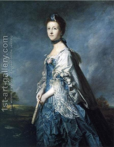 Mrs. Turnour by Sir Joshua Reynolds - Reproduction Oil Painting