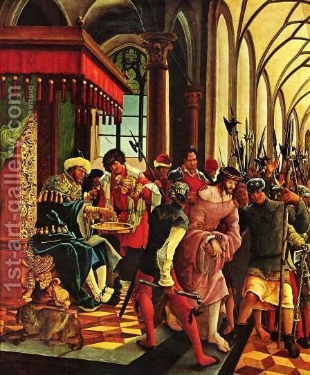 Passion of Christ 2 by Albrecht Altdorfer - Reproduction Oil Painting