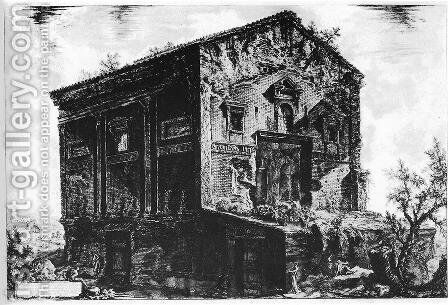 Vedute di Roma 94 by Giovanni Battista Piranesi - Reproduction Oil Painting