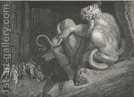 Inferno Canto 2 by Gustave Dore - Reproduction Oil Painting