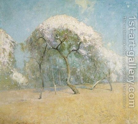 Spring Landscape 2 by Emil Carlsen - Reproduction Oil Painting