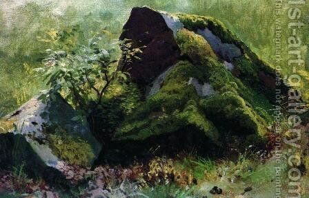 Stones 3 by Ivan Shishkin - Reproduction Oil Painting