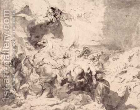 The Damage of Sennaherib 2 by Rubens - Reproduction Oil Painting