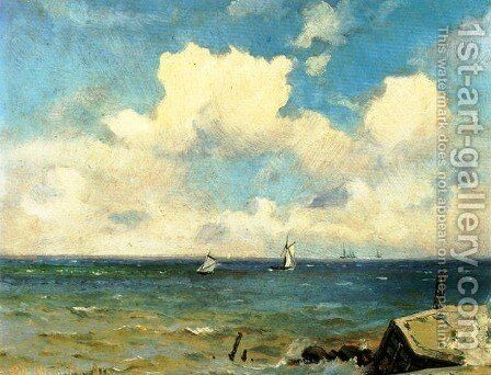 Seascape 5 by Ioannis (Jean H.) Altamura - Reproduction Oil Painting