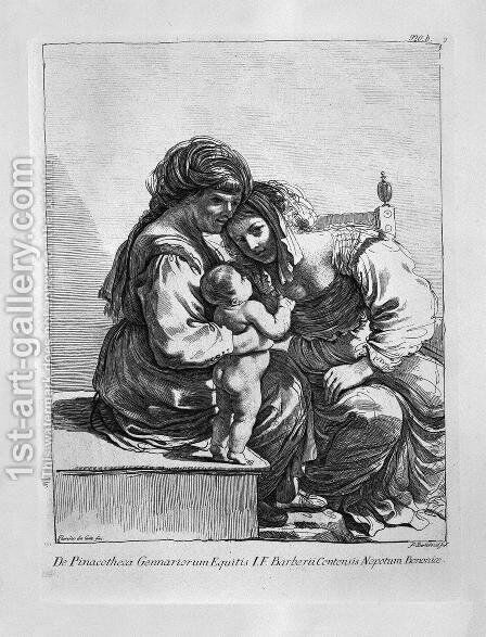 St. Anne, the Virgin and Child Jesus by Giovanni Battista Piranesi - Reproduction Oil Painting