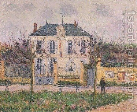The House by Gustave Loiseau - Reproduction Oil Painting