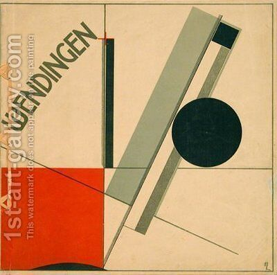 Wendingen by Eliezer (El) Markowich Lissitzky - Reproduction Oil Painting