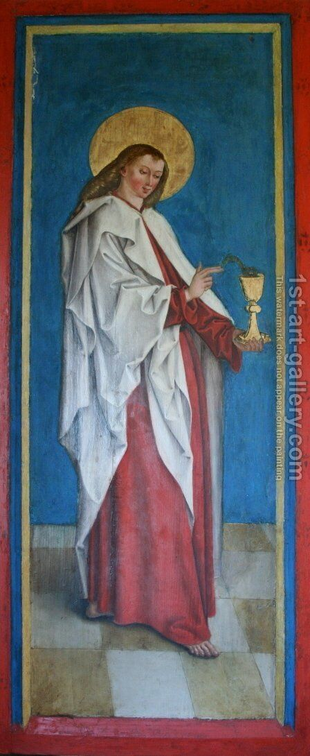 John the Evangelist by Bernhard Strigel - Reproduction Oil Painting
