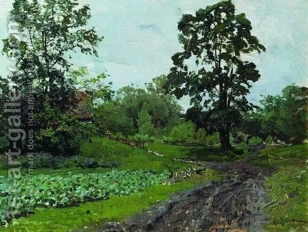 Road 2 by Isaak Ilyich Levitan - Reproduction Oil Painting