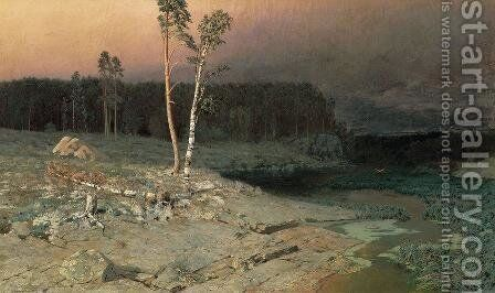 On a Valaam Island by Arkhip Ivanovich Kuindzhi - Reproduction Oil Painting