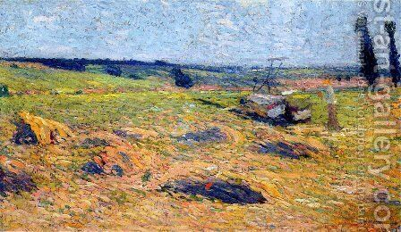 Landscape 3 by Henri Martin - Reproduction Oil Painting