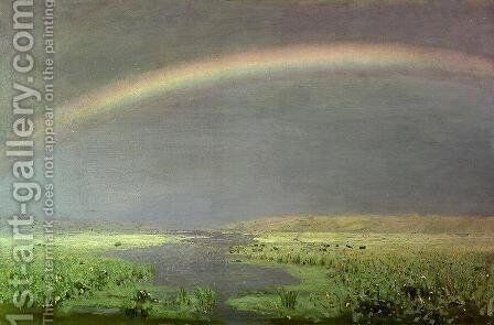 Rainbow 2 by Arkhip Ivanovich Kuindzhi - Reproduction Oil Painting