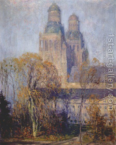 The Cathedral by Guy Rose - Reproduction Oil Painting