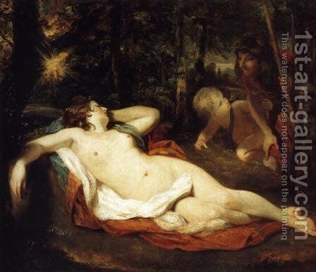 Cimon and Iphigenia by Sir Joshua Reynolds - Reproduction Oil Painting