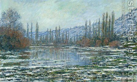 The Thaw at Vetheuil by Claude Oscar Monet - Reproduction Oil Painting