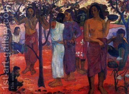 Perfect days by Paul Gauguin - Reproduction Oil Painting