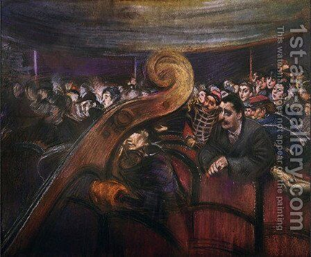 Theater by Giovanni Boldini - Reproduction Oil Painting