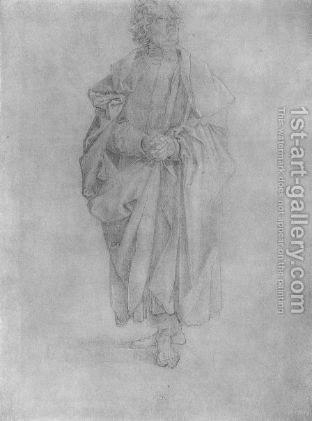 Apostle 4 by Albrecht Durer - Reproduction Oil Painting