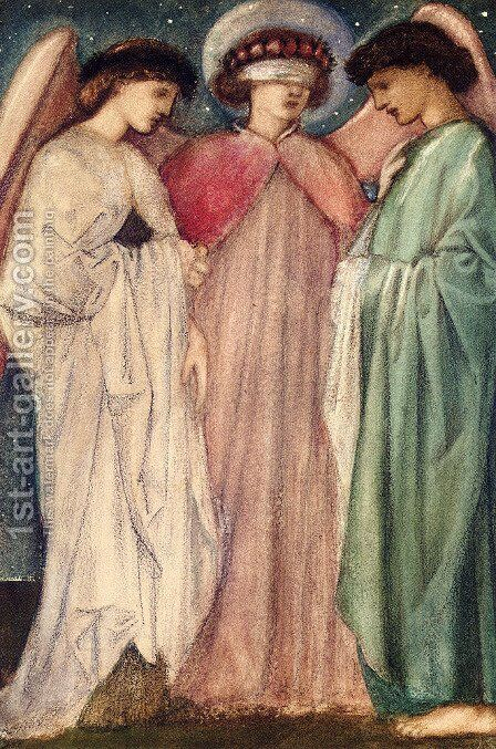 Unknown 9 by Sir Edward Coley Burne-Jones - Reproduction Oil Painting
