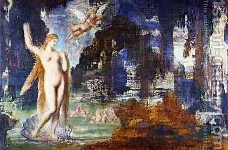 Unknown 9 by Gustave Moreau - Reproduction Oil Painting