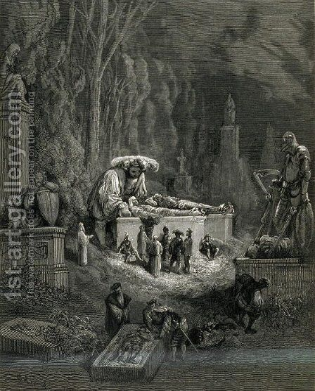 Pantagruel 2 by Gustave Dore - Reproduction Oil Painting