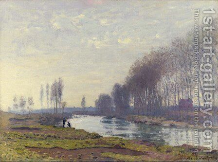 The Small Arm of the Seine at Argenteuil 2 by Claude Oscar Monet - Reproduction Oil Painting