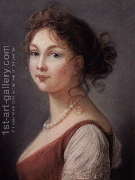 Princess Louise of Prussia by Elisabeth Vigee-Lebrun - Reproduction Oil Painting