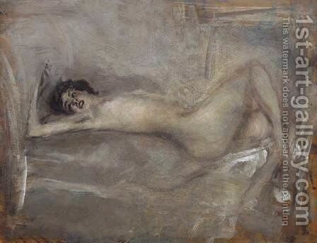Symphony in Gray by Giovanni Boldini - Reproduction Oil Painting