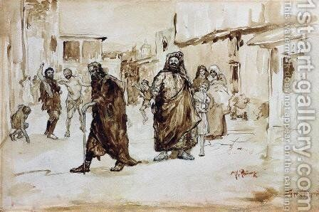 Prophet by Ilya Efimovich Efimovich Repin - Reproduction Oil Painting
