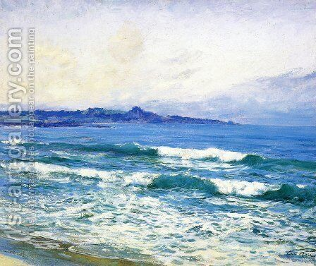 Mission Point by Guy Rose - Reproduction Oil Painting