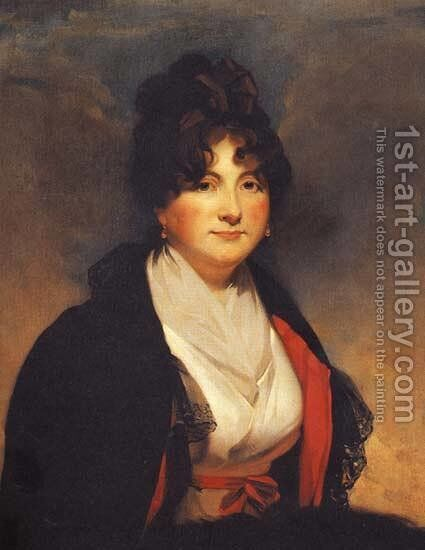 Catherine Vorontsova by Sir Henry Raeburn - Reproduction Oil Painting