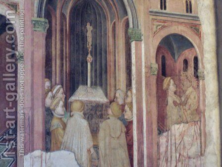 loggia the founding of rome 3 painting by gentile da fabriano