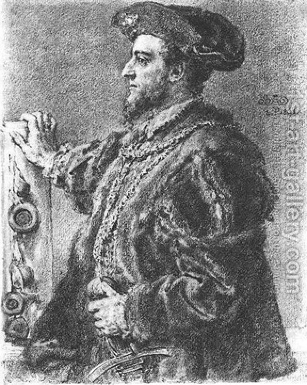 Sigismund II August by Jan Matejko - Reproduction Oil Painting
