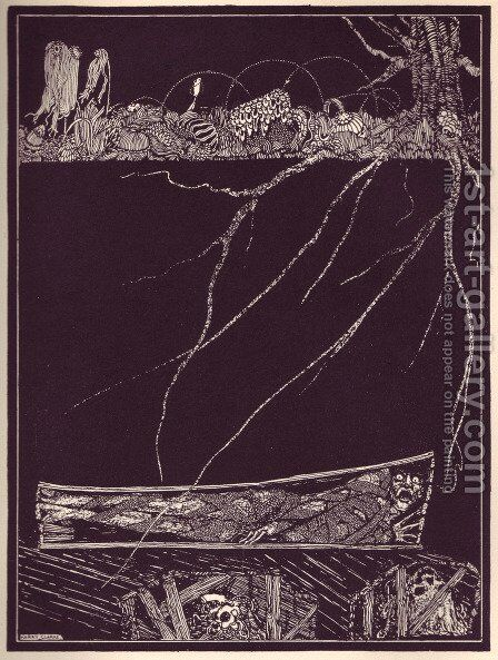 Tales of Mystery and Imagination by Edgar Allan Poe 20 by Harry Clarke - Reproduction Oil Painting