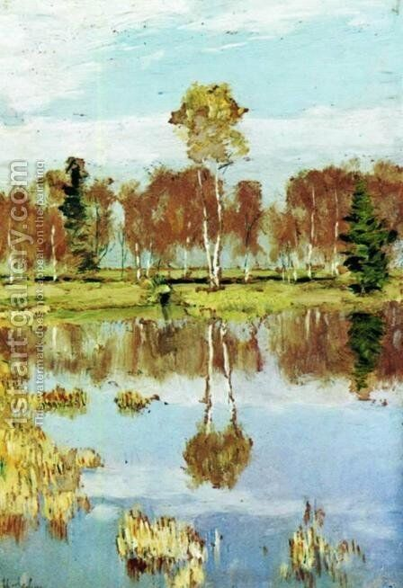 Autumn 7 by Isaak Ilyich Levitan - Reproduction Oil Painting