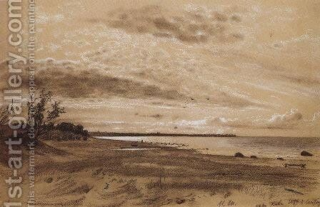 Beach. Mary-Howe by Ivan Shishkin - Reproduction Oil Painting