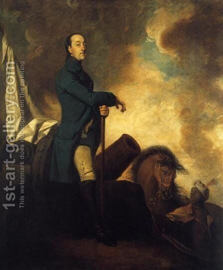 Frederick, Count of Schaumburg Lippe by Sir Joshua Reynolds - Reproduction Oil Painting