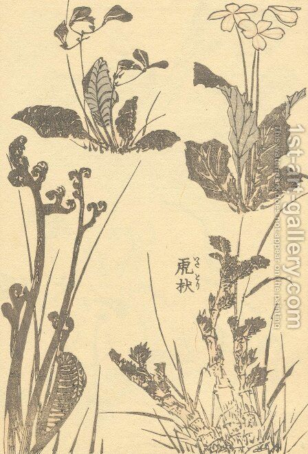 Unknown 1015 by Katsushika Hokusai - Reproduction Oil Painting