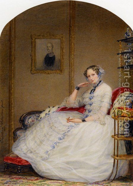 Empress Alexandria Fedorovna by Christina Robertson - Reproduction Oil Painting