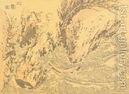 Unknown 1020 by Katsushika Hokusai - Reproduction Oil Painting