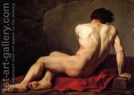 Patrocles by Jacques Louis David - Reproduction Oil Painting