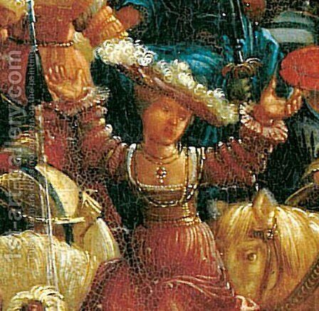 The battle of Issus(fragment) 6 by Albrecht Altdorfer - Reproduction Oil Painting