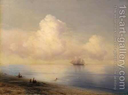 Calm Sea 3 by Ivan Konstantinovich Aivazovsky - Reproduction Oil Painting