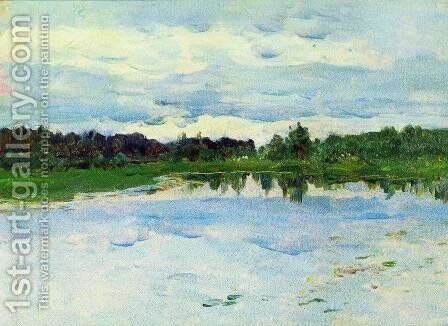 Lake 3 by Isaak Ilyich Levitan - Reproduction Oil Painting