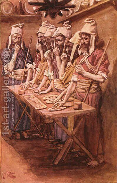 The Jews Passover by James Jacques Joseph Tissot - Reproduction Oil Painting