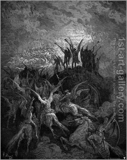 Paradise Lost 9 by Gustave Dore - Reproduction Oil Painting