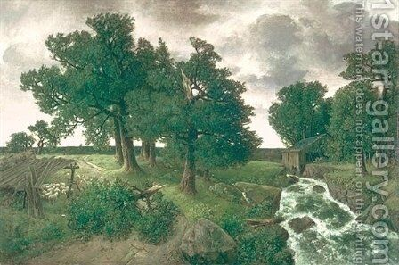 Evening after the Storm by Homer Watson - Reproduction Oil Painting