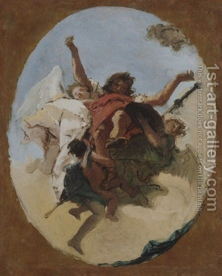 The Apotheosis of Saint Roch by Giovanni Battista Tiepolo - Reproduction Oil Painting