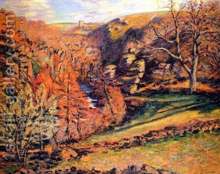 Madness Ravine, Crozant by Armand Guillaumin - Reproduction Oil Painting